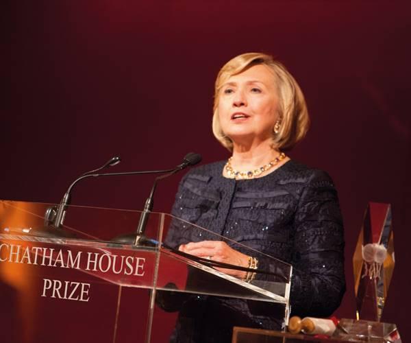 hillary rodham clinton main image year tbc chatham house prize award ceremony jpg